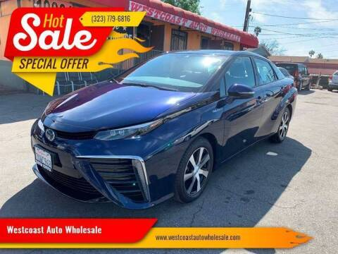 2016 Toyota Mirai for sale at Westcoast Auto Wholesale in Los Angeles CA