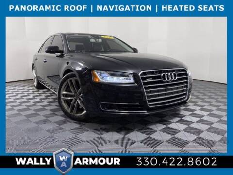 2015 Audi A8 L for sale at Wally Armour Chrysler Dodge Jeep Ram in Alliance OH