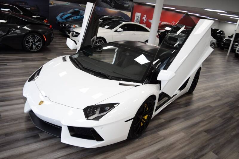 2015 Lamborghini Aventador for sale at Icon Exotics in Houston TX