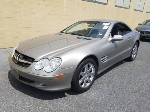 2003 Mercedes-Benz SL-Class for sale at Great Lakes Classic Cars & Detail Shop in Hilton NY