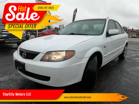 2002 Mazda Protege for sale at StarCity Motors LLC in Garden City ID