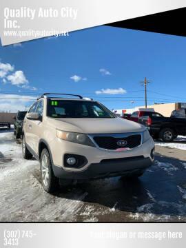 2011 Kia Sorento for sale at Quality Auto City Inc. in Laramie WY