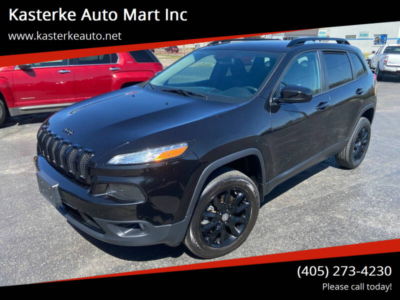 2014 Jeep Cherokee for sale at Kasterke Auto Mart Inc in Shawnee OK