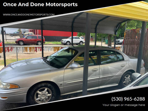 2001 Buick LeSabre for sale at Once and Done Motorsports in Chico CA