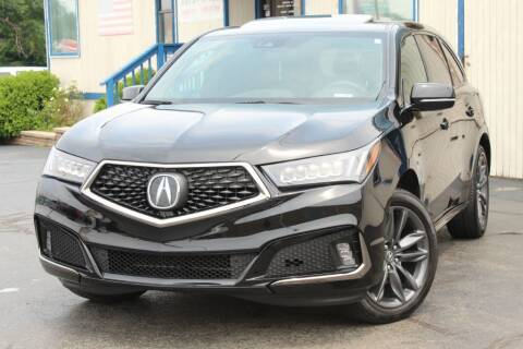 2019 Acura MDX for sale at Dynamics Auto Sale in Highland IN