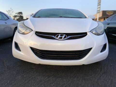 2011 Hyundai Elantra for sale at Global Auto Group in Fontana CA