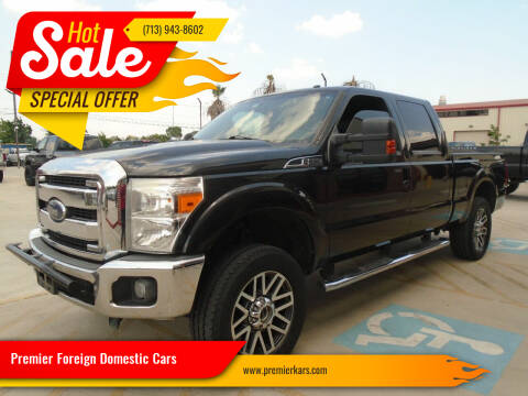 2014 Ford F-250 Super Duty for sale at Premier Foreign Domestic Cars in Houston TX