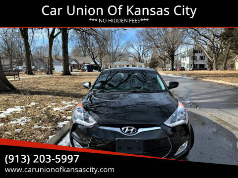 2013 Hyundai Veloster for sale at Car Union Of Kansas City in Kansas City MO
