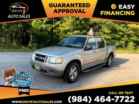 2003 Ford Explorer Sport Trac for sale at Drive 1 Auto Sales in Wake Forest NC