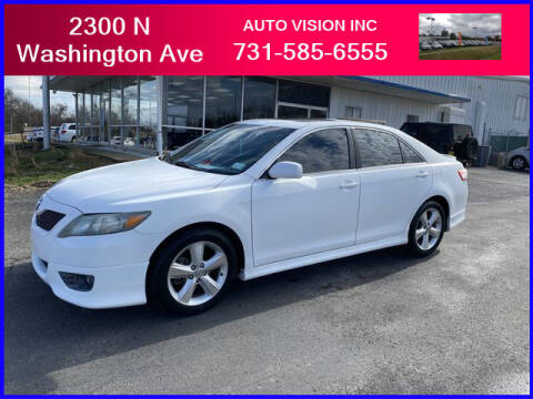 2011 Toyota Camry for sale at Auto Vision Inc. in Brownsville TN