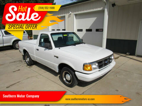 1993 Ford Ranger for sale at Southern Motor Company in Lancaster SC