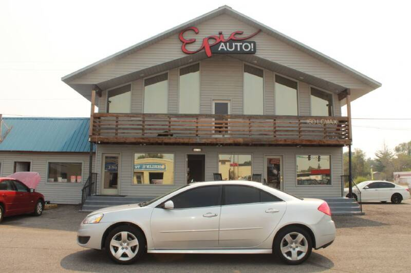 2010 Pontiac G6 for sale at Epic Auto in Idaho Falls ID