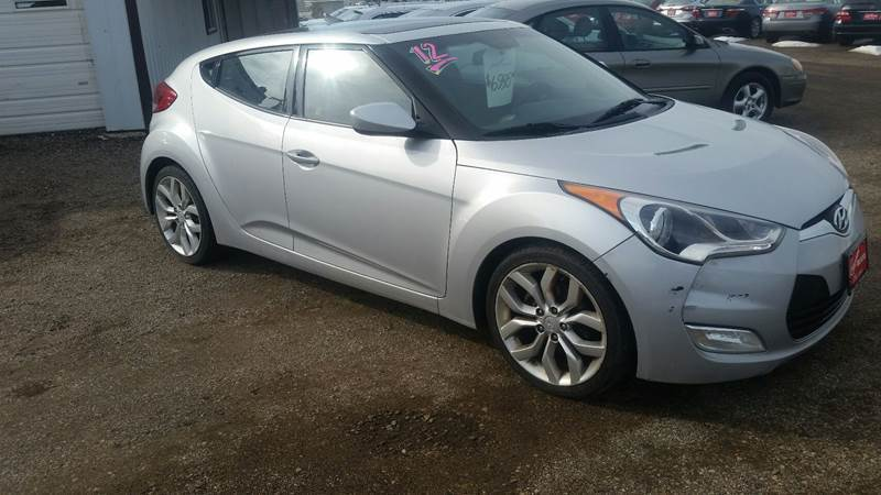 2012 Hyundai Veloster for sale at Ron Lowman Motors Minot in Minot ND