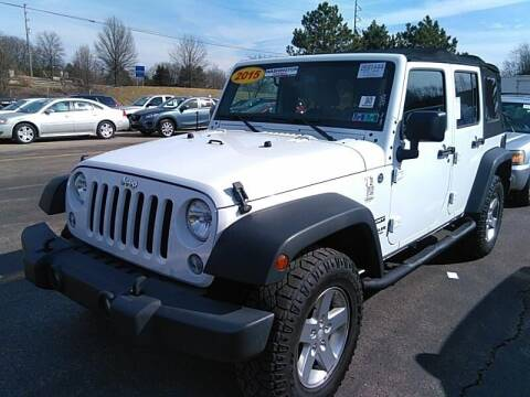 2015 Jeep Wrangler Unlimited for sale at Cj king of car loans/JJ's Best Auto Sales in Troy MI