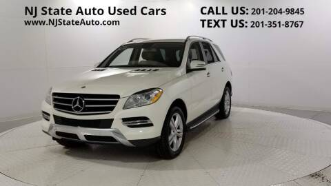 2013 Mercedes-Benz M-Class for sale at NJ State Auto Auction in Jersey City NJ
