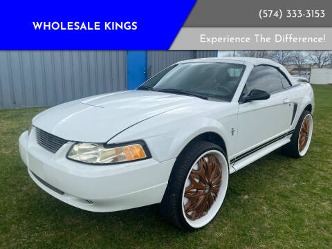 2003 Ford Mustang for sale at Wholesale Kings in Elkhart IN