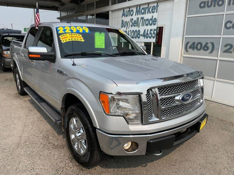 2012 Ford F-150 for sale at Auto Market in Billings MT