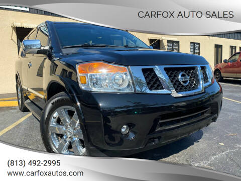 2011 Nissan Armada for sale at Carfox Auto Sales in Tampa FL