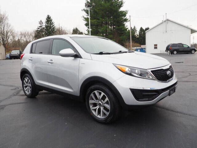 2015 Kia Sportage for sale at Patriot Motors in Cortland OH