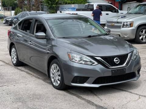 2016 Nissan Sentra for sale at AWESOME CARS LLC in Austin TX