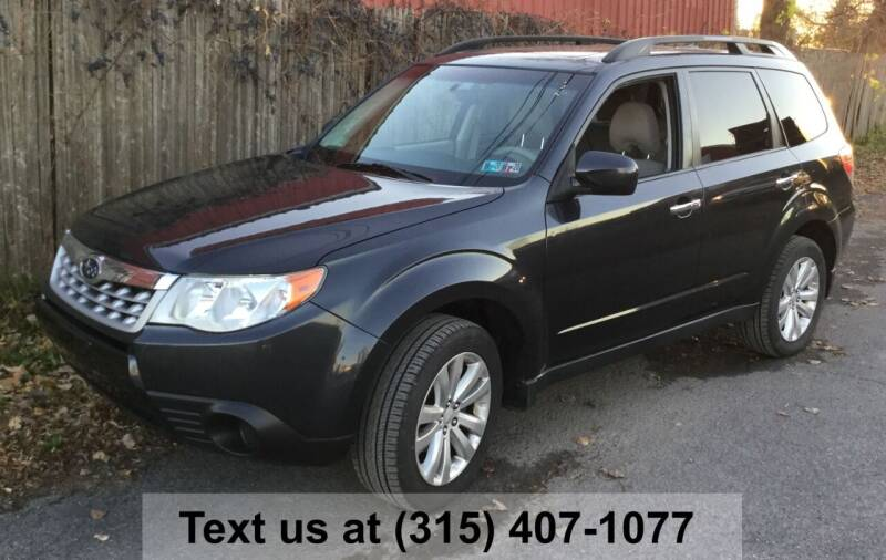 2011 Subaru Forester for sale at Pete Kitt's Automotive Sales & Service in Camillus NY