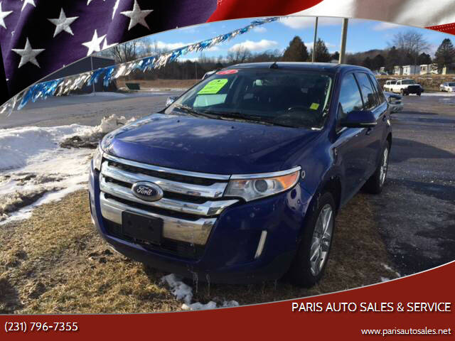 2014 Ford Edge for sale at Paris Auto Sales & Service in Big Rapids MI