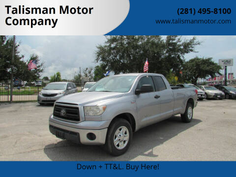 2010 Toyota Tundra for sale at Talisman Motor Company in Houston TX