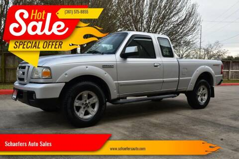 2006 Ford Ranger for sale at Schaefers Auto Sales in Victoria TX