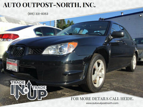 2007 Subaru Impreza for sale at Auto Outpost-North, Inc. in McHenry IL