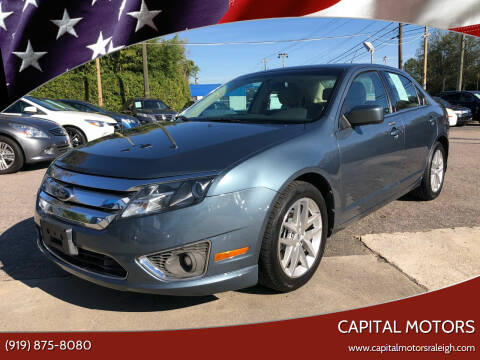 2012 Ford Fusion for sale at Capital Motors in Raleigh NC