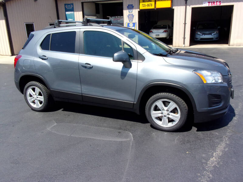 2015 Chevrolet Trax for sale at Dave Thornton North East Motors in North East PA