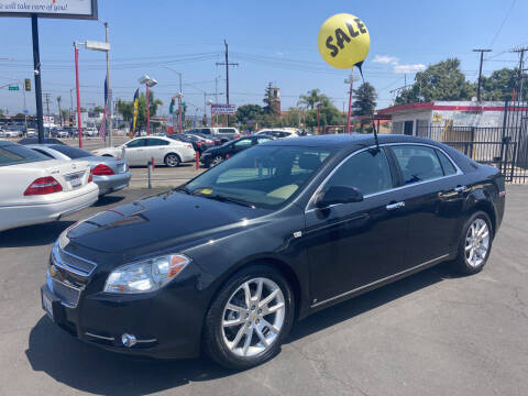 2008 Chevrolet Malibu for sale at Pacific West Imports in Los Angeles CA