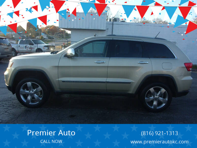 2011 Jeep Grand Cherokee for sale at Premier Auto in Independence MO