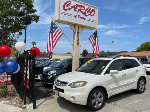 2009 Acura RDX for sale at CARCO SALES & FINANCE - CARCO OF POWAY in Poway CA