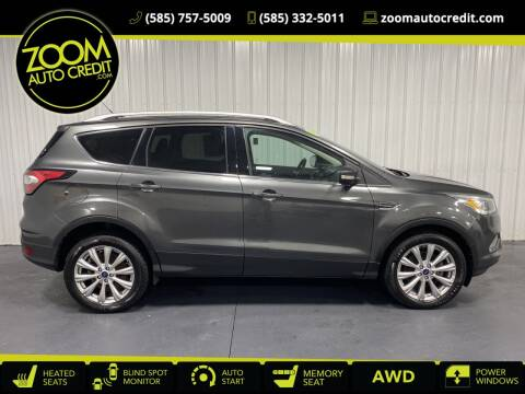 2017 Ford Escape for sale at ZoomAutoCredit.com in Elba NY