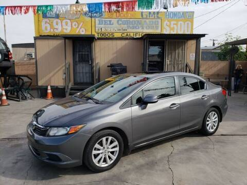 2012 Honda Civic for sale at DEL CORONADO MOTORS in Phoenix AZ