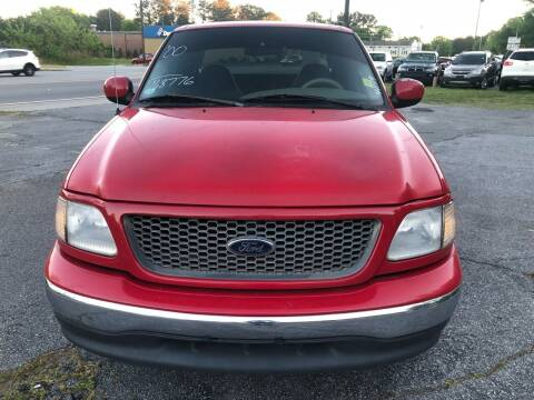 2000 Ford F-150 for sale at CAR STOP INC in Duluth GA