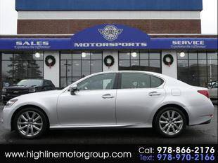 2014 Lexus GS 350 for sale at Highline Group Motorsports in Lowell MA