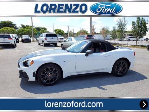 2018 FIAT 124 Spider for sale at Lorenzo Ford in Homestead FL