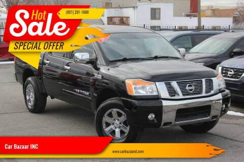 2011 Nissan Titan for sale at Car Bazaar INC in Salt Lake City UT