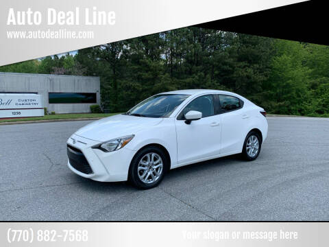2017 Toyota Yaris iA for sale at Auto Deal Line in Alpharetta GA