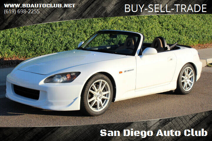 2005 Honda S2000 for sale at San Diego Auto Club in Spring Valley CA