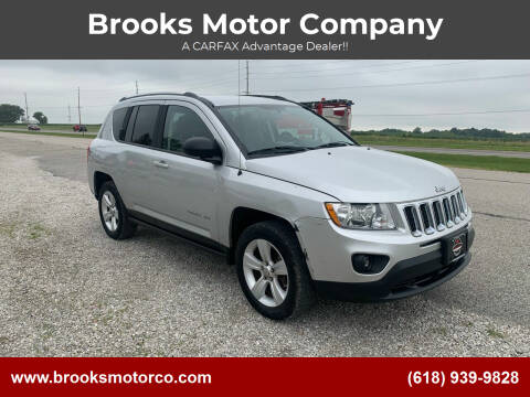 2012 Jeep Compass for sale at Brooks Motor Company in Columbia IL