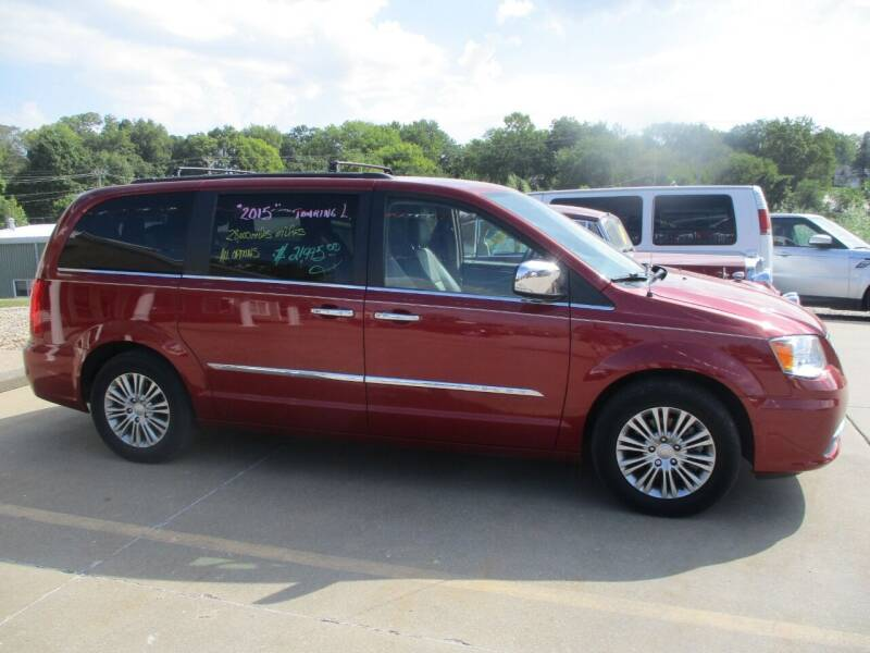 2015 Chrysler Town and Country for sale at Schrader - Used Cars in Mount Pleasant IA