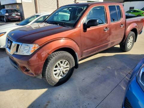 2016 Nissan Frontier for sale at GOOD NEWS AUTO SALES in Fargo ND