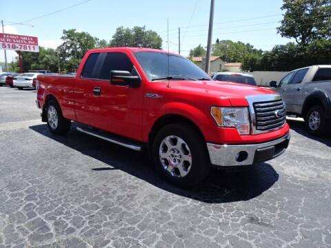 2011 Ford F-150 for sale at DONNY MILLS AUTO SALES in Largo FL