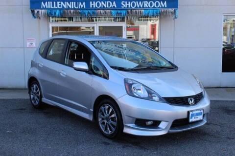 2013 Honda Fit for sale at MILLENNIUM HONDA in Hempstead NY