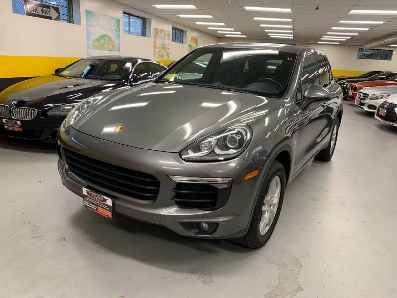 2016 Porsche Cayenne for sale at Newton Automotive and Sales in Newton MA