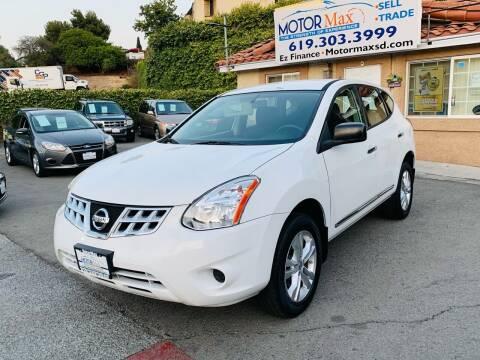 2013 Nissan Rogue for sale at MotorMax in Lemon Grove CA