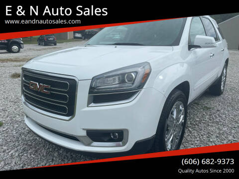 2017 GMC Acadia Limited for sale at E & N Auto Sales in London KY